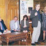 Deschiderea oficiala a festivalului- editia a IV, 19-12 septembrie 2003